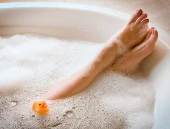 bain relaxant anti stress naturel