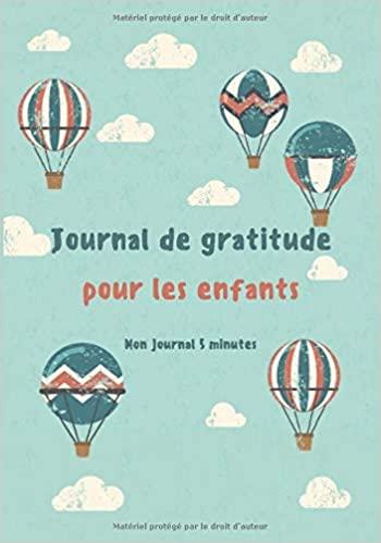 journal grattitude pour enfant