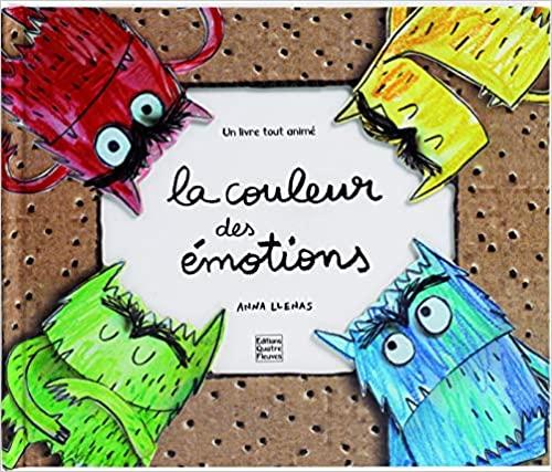livre developpement personnel enfant la couleur des émotions